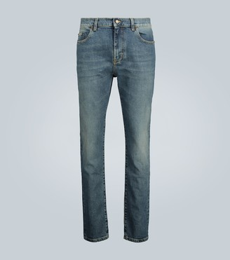 Saint Laurent Cropped skinny denim jeans