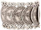 Natalie B Cypress Bazaar Bracelet in Metallic Silver.