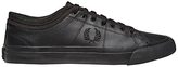 Fred Perry Kendrick Leather Trainers, Black