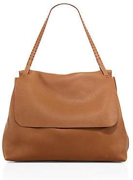 The Row Women's Leather Top-Handle Messenger Bag