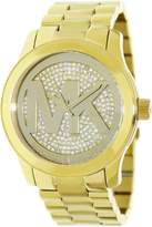 Michael Kors Women's Runway MK5706 Gold Stainless-Steel Japanese Quartz Fashion Watch