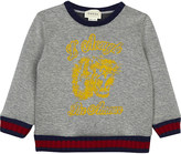 Gucci Logo cotton sweater 6-36 months