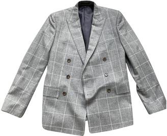 J.Crew Grey Wool Jackets