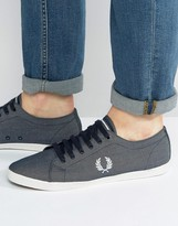 Fred Perry Kingston Chambray Trainers