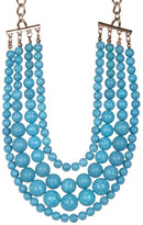 BaubleBar Lotus Multi-Layer Beaded Necklace