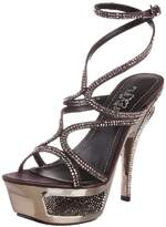 Pleaser USA Women's Deluxe-620RS/DGYSA Platform Sandal,