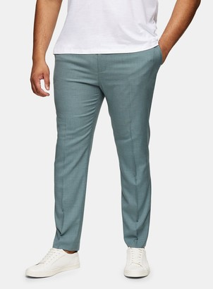 Topman BIG & TALL Sage Skinny Suit Trousers*