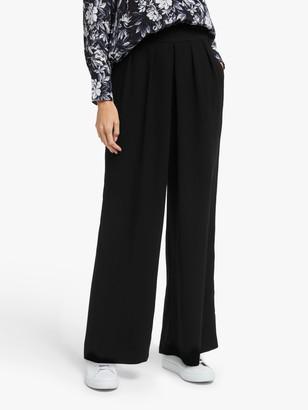 Modern Rarity High Waist Wide Leg Trousers, Black