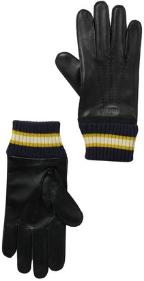 Ted Baker Forchet Cuff Leather Gloves