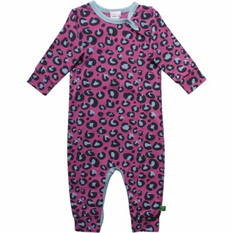 Fred's World by Green Cotton Baby Girls' Animal Shaping Bodysuit