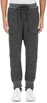 Nlst Men's Double-Faced Cotton Harem Sweatpants-Dark Grey Size M