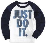 Nike Boys' Just Do It Raglan Tee - Little Kid