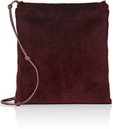"The Row Women's ""Medicine"" Fur Large Crossbody Pouch-RED"