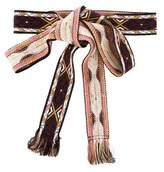 Etoile Isabel Marant Patterned Tie Belt