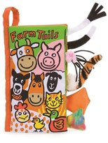 Jellycat Infant 'Farm Tails' Book