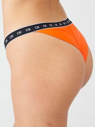 Calvin Klein CheekyBikini Bottoms- Orange
