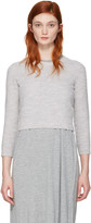 Acne Studios Grey Mindy Sweater