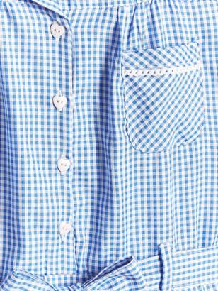 Very Girls 2 Pack Traditional Gingham School Dress - Blue
