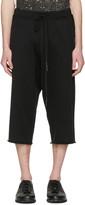Nude:mm Black Long Shorts