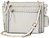 La Diva Square Studded 3-in-1 Crossbody Bag