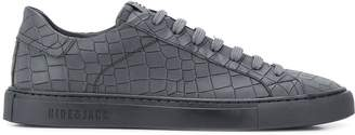 Hide&Jack croc-effect low top sneakers
