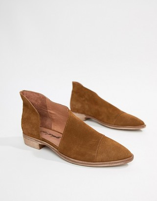 Free People Royale flat shoes-Brown