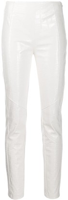 Pinko slim-fit high-waisted trousers