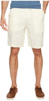 True Grit Sunset Linen Drawsting Chino Shorts Vintage Washed for Softness Men's Shorts