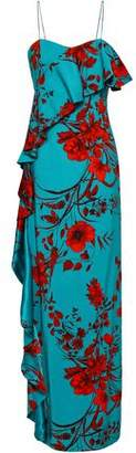 Sachin + Babi Putri Floral-print Stretch-crepe Maxi Dress