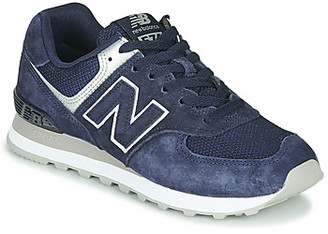 New Balance 574 women's Shoes (Trainers) in Blue