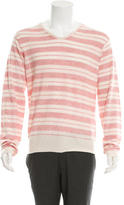 Shipley & Halmos Cashmere Patterned Knit Sweater