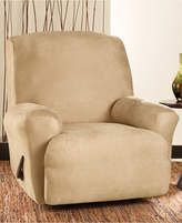 Sure Fit Stretch Faux Leather One Piece Recliner Slipcover