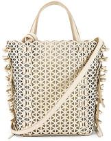 Zac Posen Lacey Bow North & South Shopper Bag