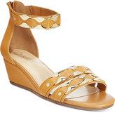 Bella Vita Imogen Ankle-Strap Wedge Sandals