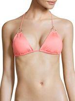Vitamin A Cosmo Deluxe Textured Bikini Top