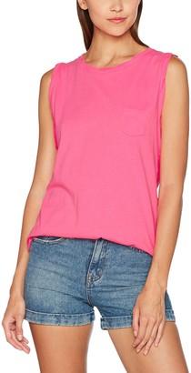 Urban Classics Women's Ladies Sleeveless Pocket Tee T-Shirt