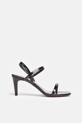 Coast Square Toe Patent Heels