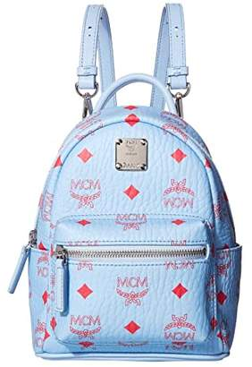 MCM Stark Backpack 20 (Blue Bell) Backpack Bags