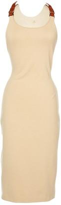 Ralph Lauren Beige Wool Dresses