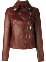 Christopher Kane embroidered cropped jacket