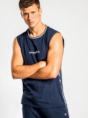 Le Coq Sportif Xavier Muscle T-Shirt in Navy