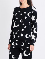 Chinti and Parker Midnight Sky cashmere jumper
