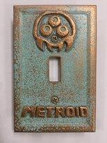 Metroid Stone/Copper/Patina Light Switch Cover (Custom) (Patina/Copper)