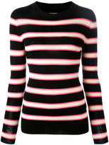 Etoile Isabel Marant striped top - women - Polyester/Viscose - 40