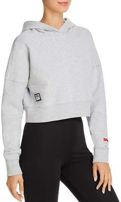 Puma x Adriana Lima Cropped Hooded Sweatshirt
