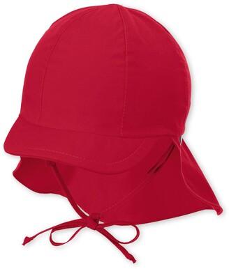 Sterntaler Baby Girls' Schirmmutze M. Nackenschutz Hat