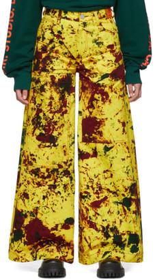 S.R. STUDIO. LA. CA. Yellow Y.R.G. SOTO C Jeans