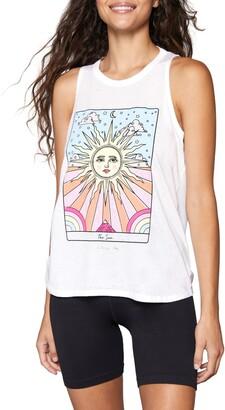 Spiritual Gangster Sun Movement Graphic Tank