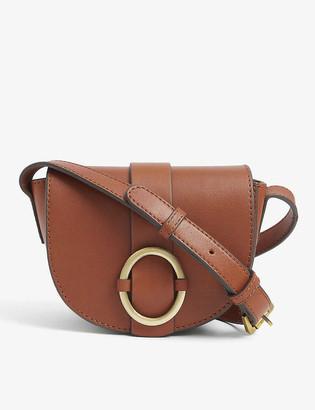Sessun Tessao small leather cross-body bag