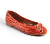 Marc by Marc Jacobs Perforated Leather Mouse Flats